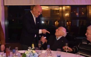 Golden Tulip Reunie - Hans Lodder met oprichter Hendrik Tuinema