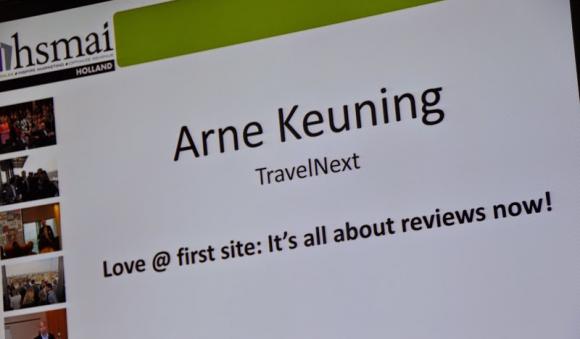 Love At First Site spreker Arne Keuning TravelNext