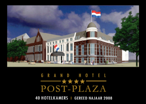 Online marketing voor Hotel Post Plaza Leeuwarden Restaurant