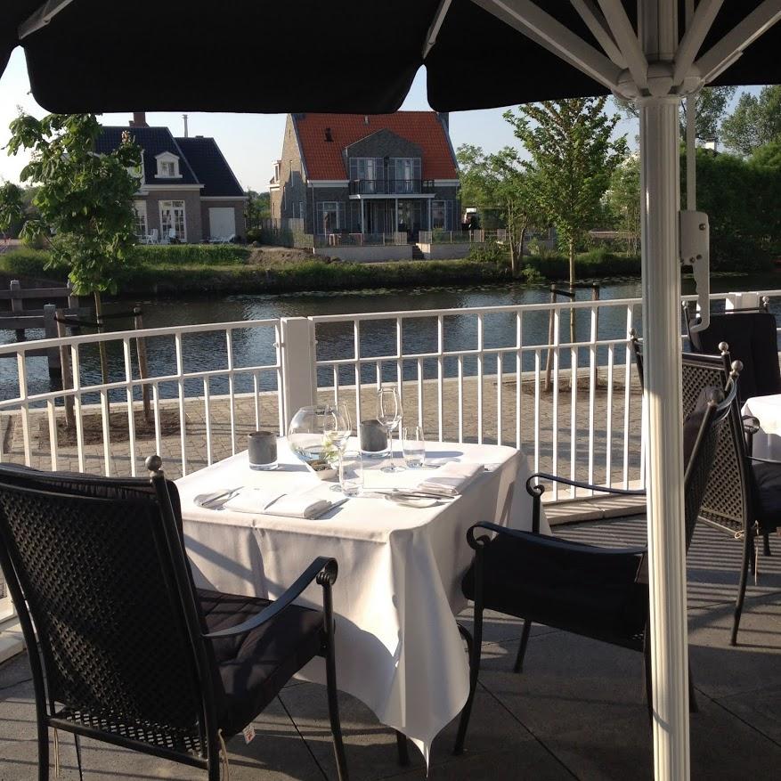 Terras Aan Het Water Restaurant Opbuuren Maarssen
